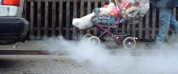 Havayı kirleten araçlara 140 bin lira ceza