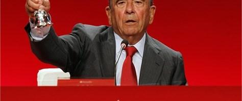 İspanyol bankanın başkanı vefat etti