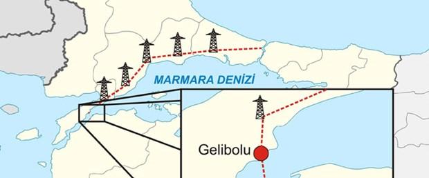 İstanbul'a deniz altından elektrik