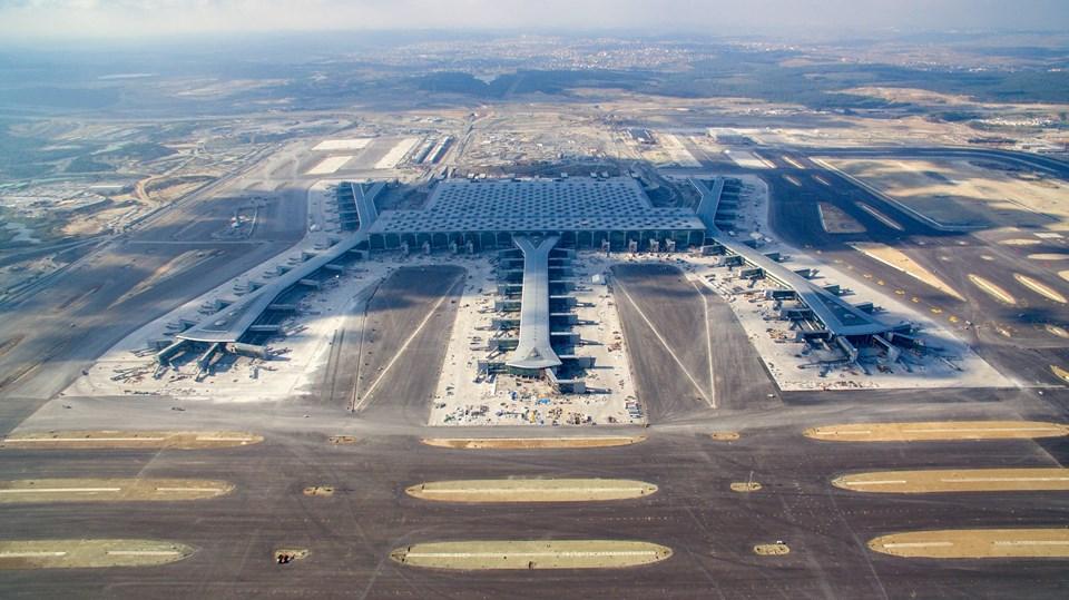 3. havalimanının inşaatı tüm hızla sürüyor.