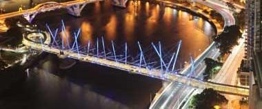İşte Kurilpa Köprüsü