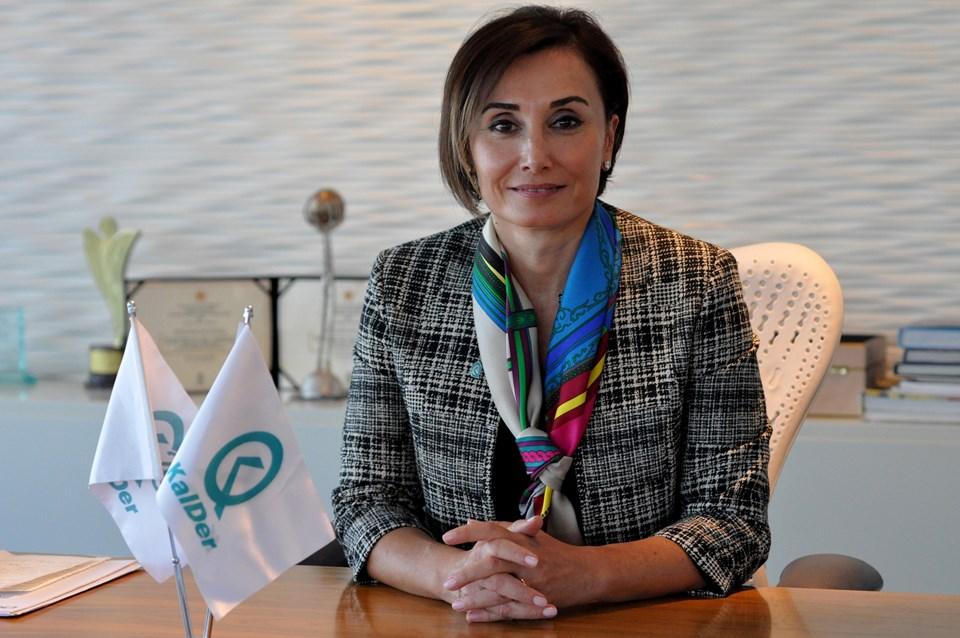 KalDer Yönetim Kurulu Başkanı Buket Eminoğlu Pilavcı