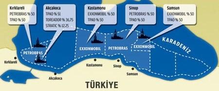 Karadeniz'de petrol bulmak için 4 milyar dolar harcandı