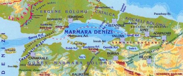 Marmara'nın en tehlikeli iki bölgesi