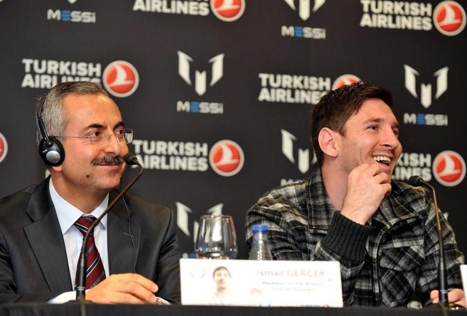 Messi, THY'nin yeni marka elçisi