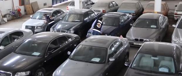 Milyonluk lüks otomobiller gümrüğe takıldı
