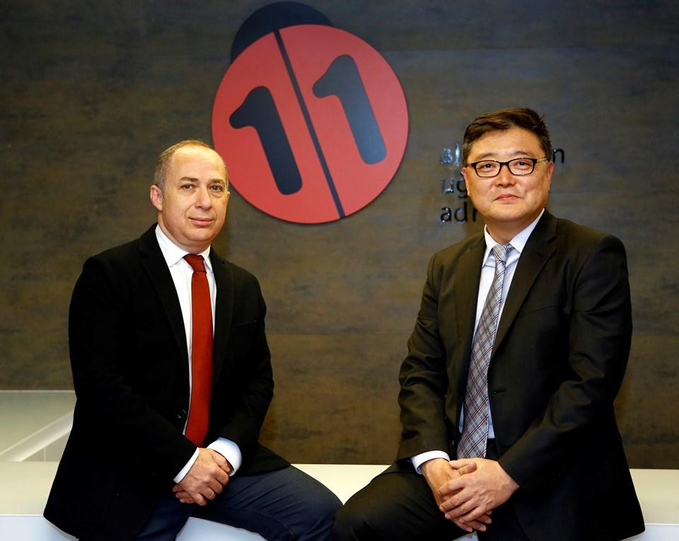 Doğuş Planet İcradan Sorumlu Yönetim Kurulu Üyesi İzi Adato ven11.com Genel Müdürü Won Yong, Jo
