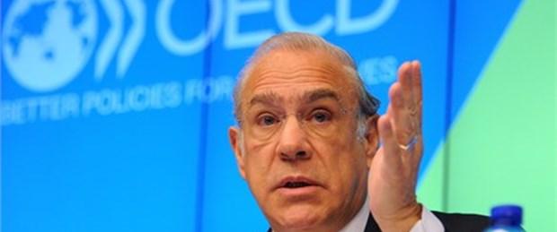 OECD Türkiye için büyüme tahminini düşürdü