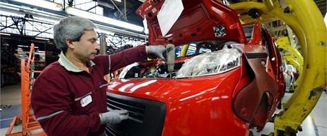 Otomotiv üretiminde sert düşüş
