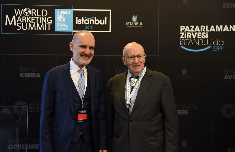 İTO Başkanı Şekib Avdagiç veProf. Dr. Philip Kotler