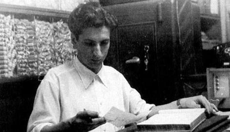 Sabri Ülker iş hayatının ilk yıllarında.