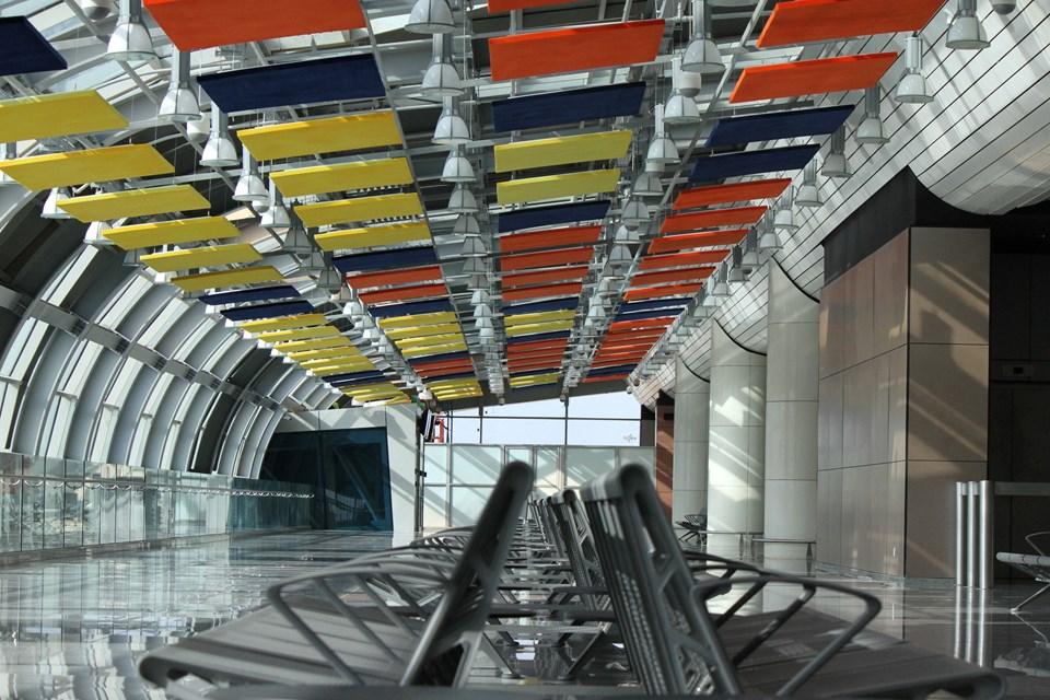 Terminal binasının büyüklüğü, 42 bin metrekare