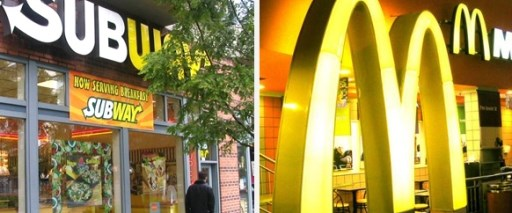 Subway, McDonalds'ı geçti