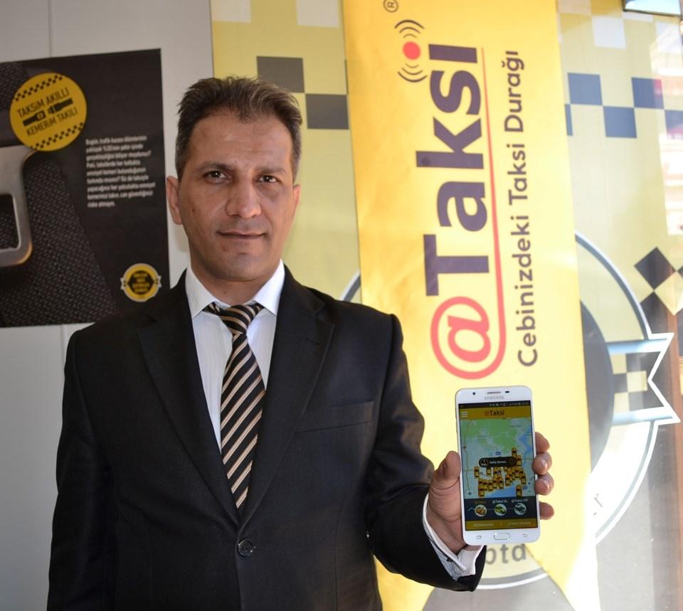 @taksi Genel Müdürü Birtan Pabuçcu, uygulamanın tanıtımını yaptı.