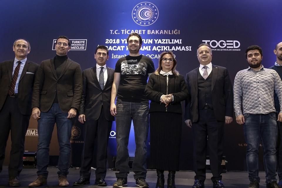 Ticaret Bakanı Pekcan 2018 yılı oyun yazılımı ihracat rakamlarını açıkladı