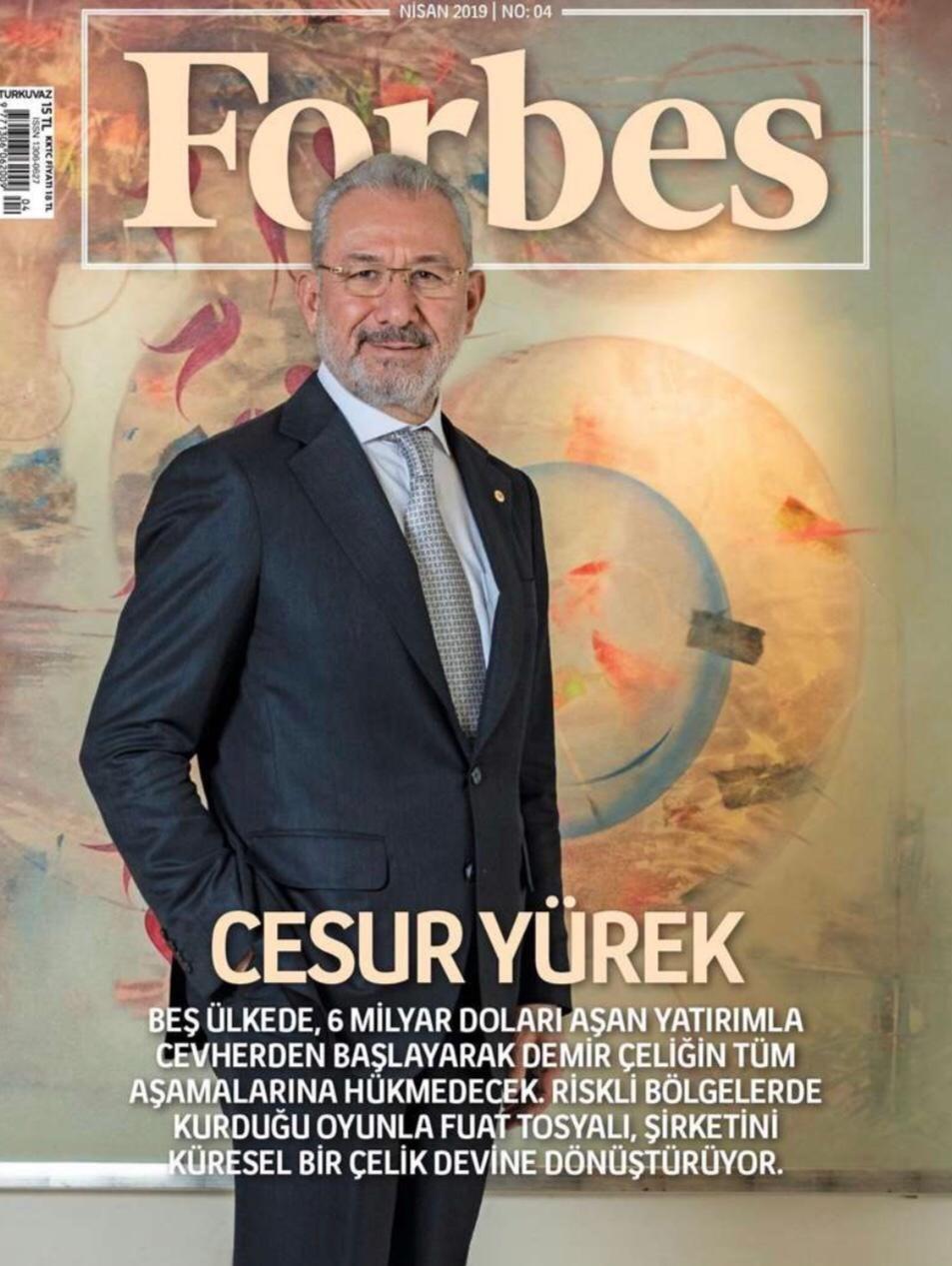 56 yaşındaki Fuat Tosyalı, son Forbes zenginler listesinde dünyanın 1818'inci ismi olarak yer aldı.