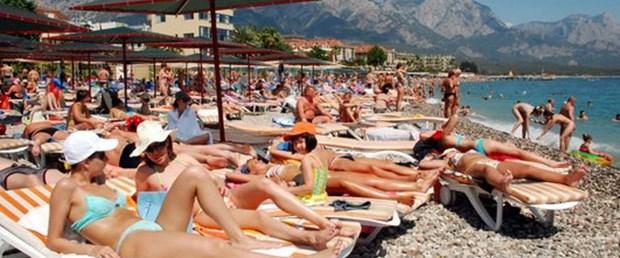 Turist sayısı üç ayda 3.5 milyonu aştı
