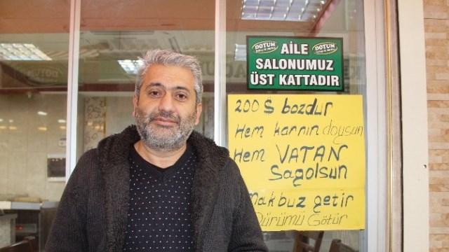 """""""MAKBUZU GETİR, DÜRÜMÜ GÖTÜR"""""""
