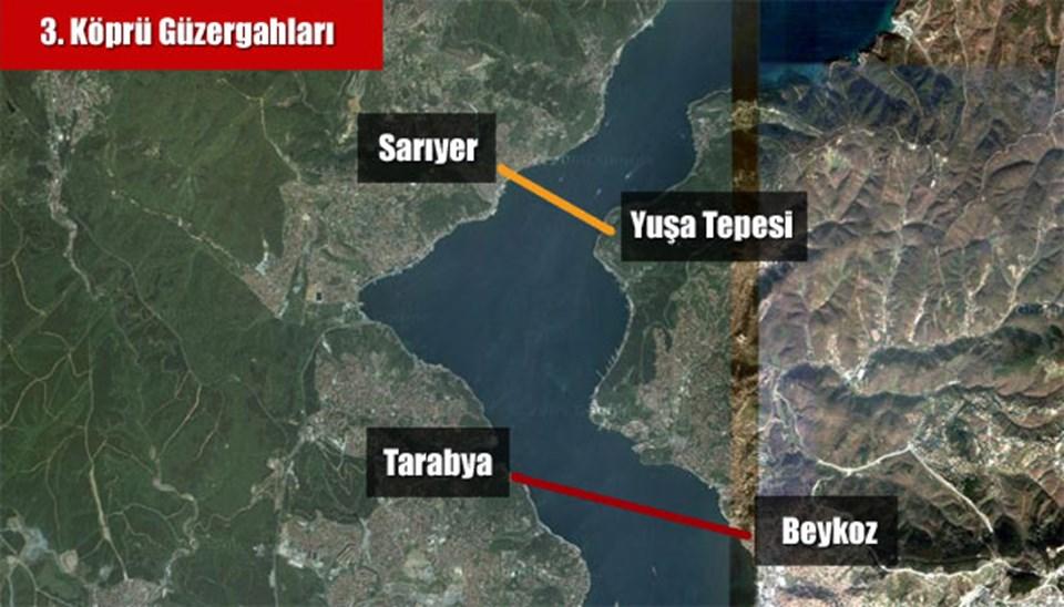 Üçüncü değil, üç geçişli köprü   NTV