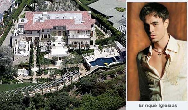 İşte ünlülerin 'ünlü' evleri