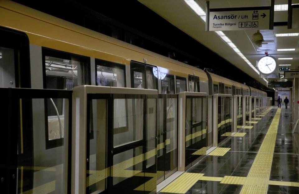 sürücüsüz metro hattı ile ilgili görsel sonucu