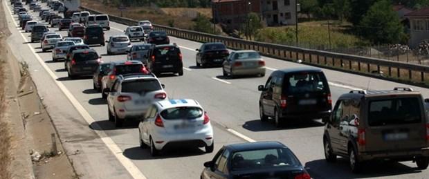 Yollardaki araç sayısı yüzde 28 arttı