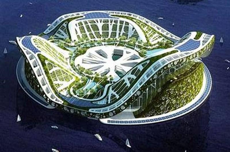 Yüzer mimari örnekleri artıyor