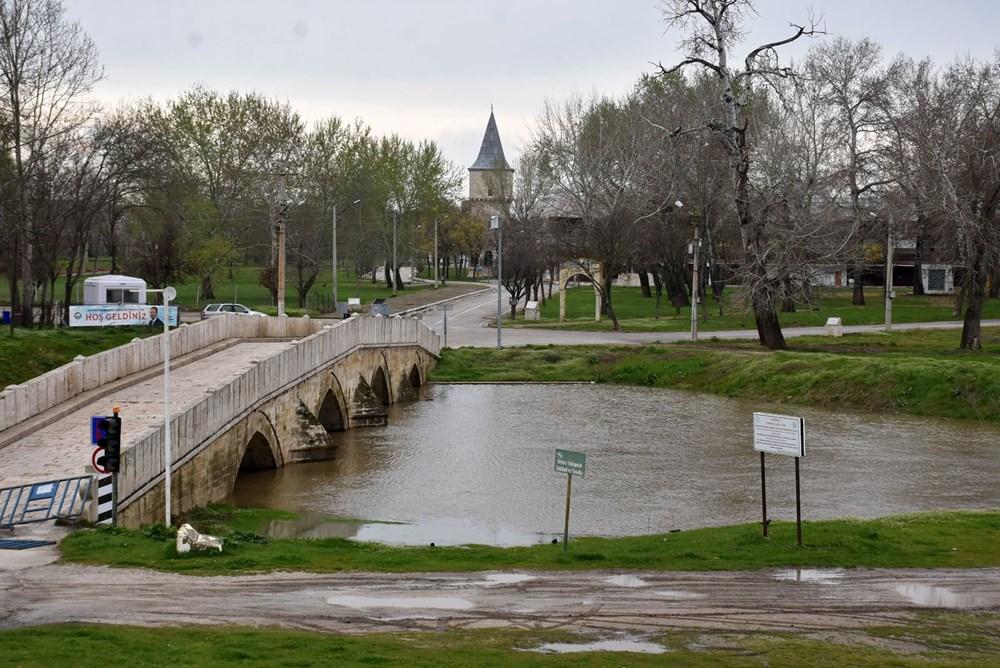 Tunca Nehri bir haftada 4 kat arttı: Sarı alarm verildi - 4