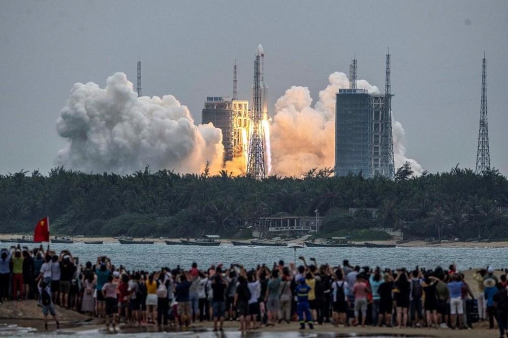 Çin'in uzaya gönderdiği roket kontrolden çıktı: Her yere düşebilir - 5