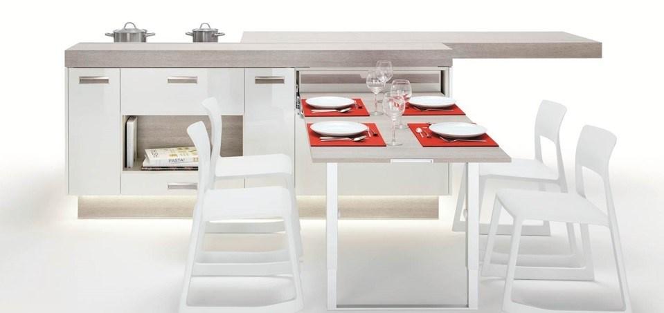 Tezgah yemek masası tamamı açık...