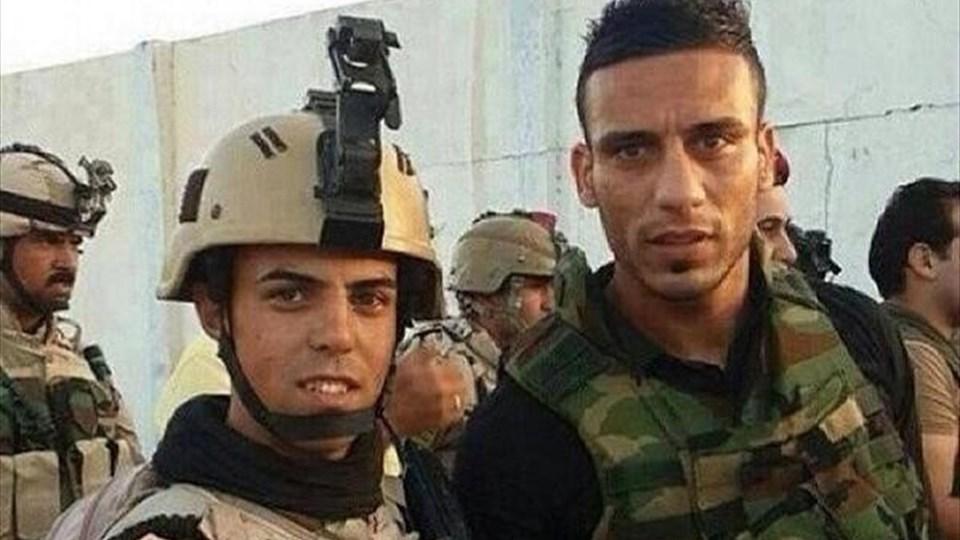 Sosyal medyadan hızla yayılan bu fotoğrafla, Ali Adnan'ın IŞİD'e karşı savaşacağı iddia edilmişti.
