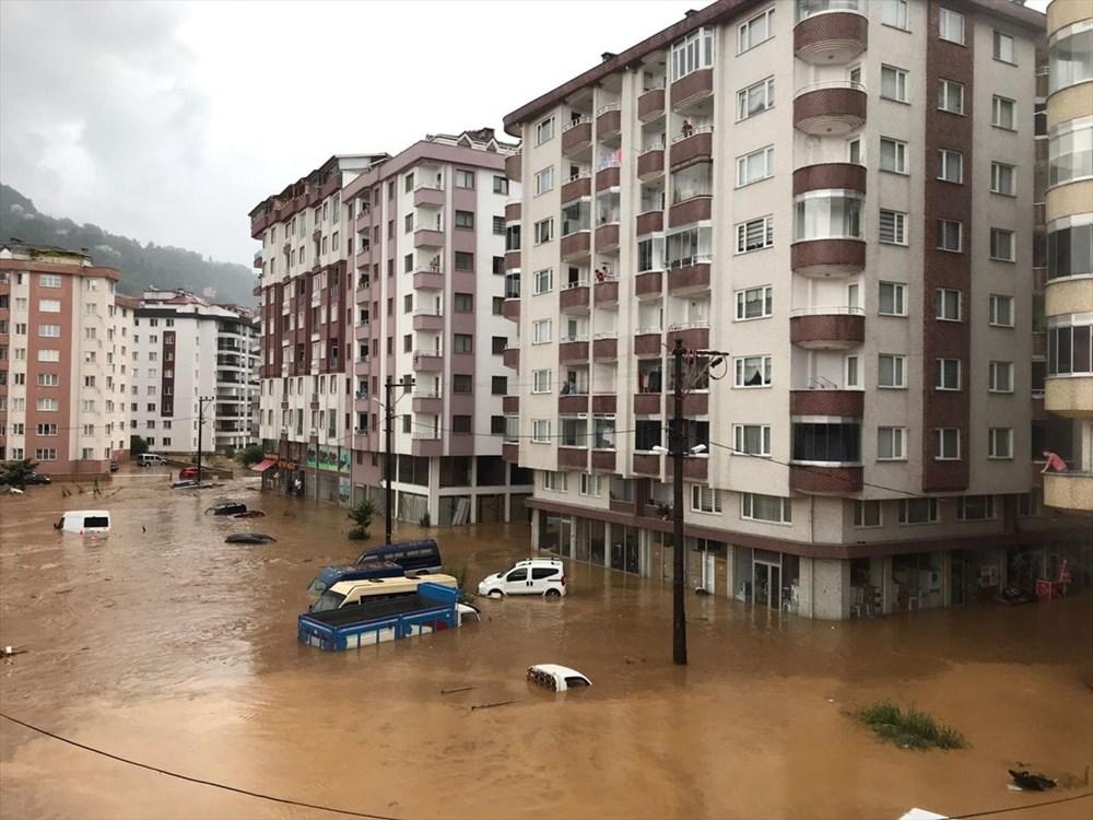 Şiddetli yağış Rize'yi de vurdu: 2 can kaybı - 17