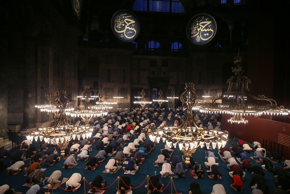 In Hagia Sophia, the crowd does not decrease - 23