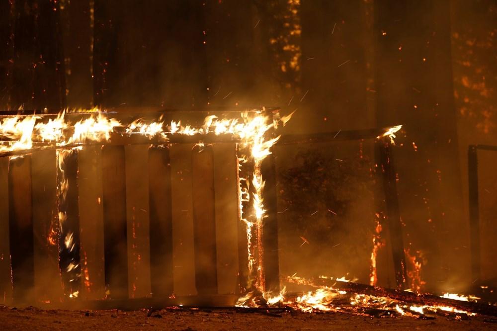 California'da 8 bin kilometrekare alan yandı, rekor kırıldı - 3