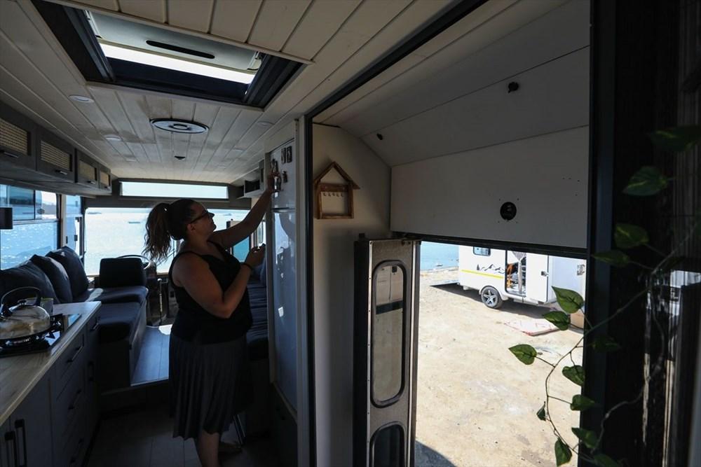 İş seyahatlerinden sıkılınca otobüsü eve çevirdi - 16