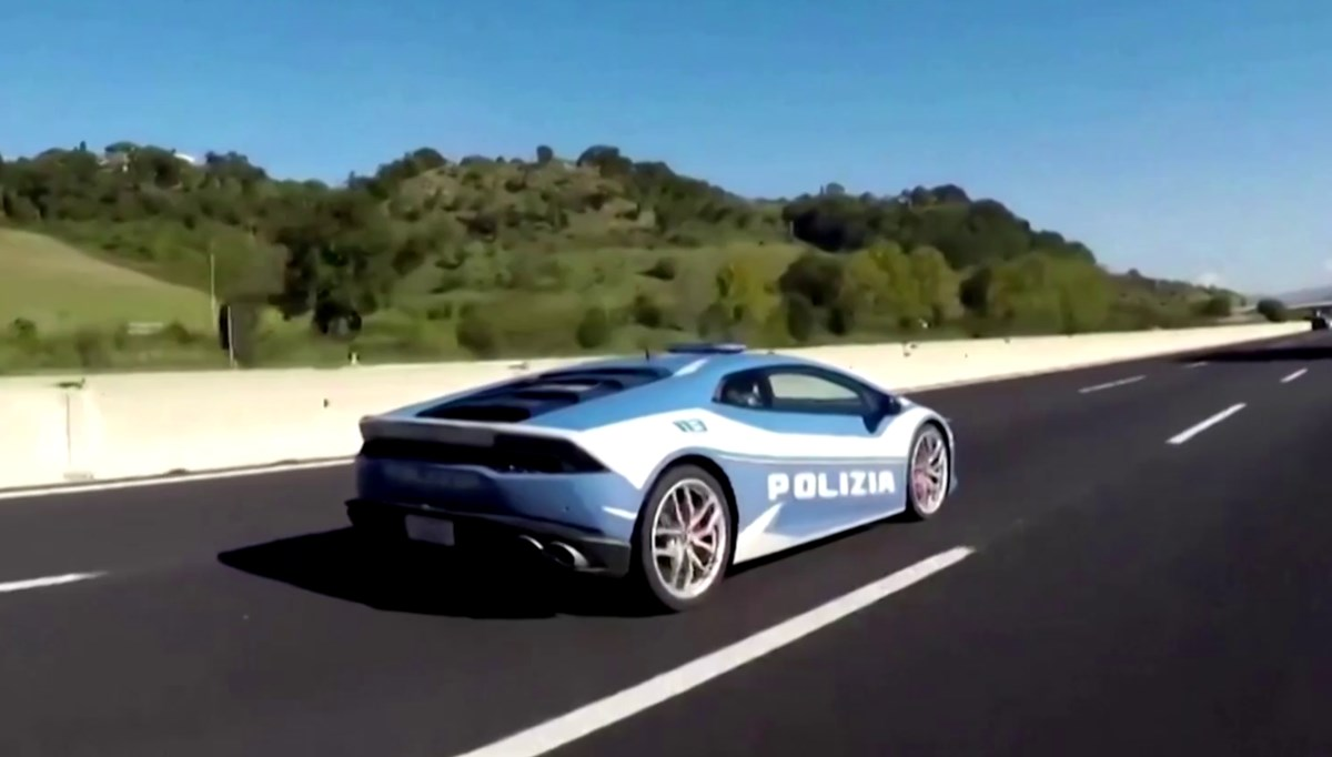 İtalya'da Lamborghini ile organ transferi