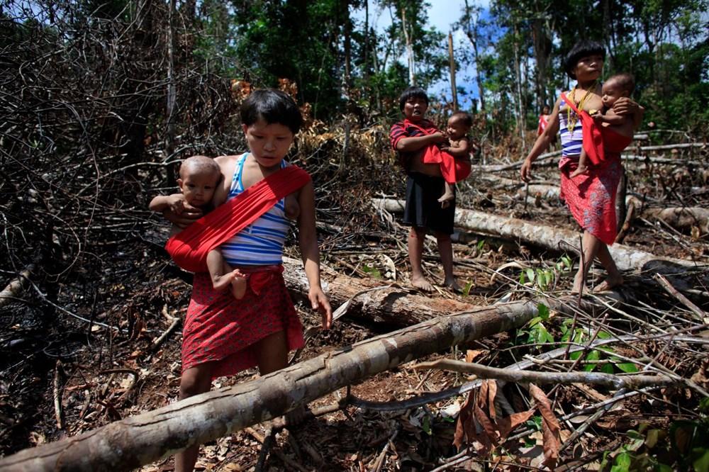 Amazon'un son  kabilesi altın avcıları nedeniyle tehlikede - 4