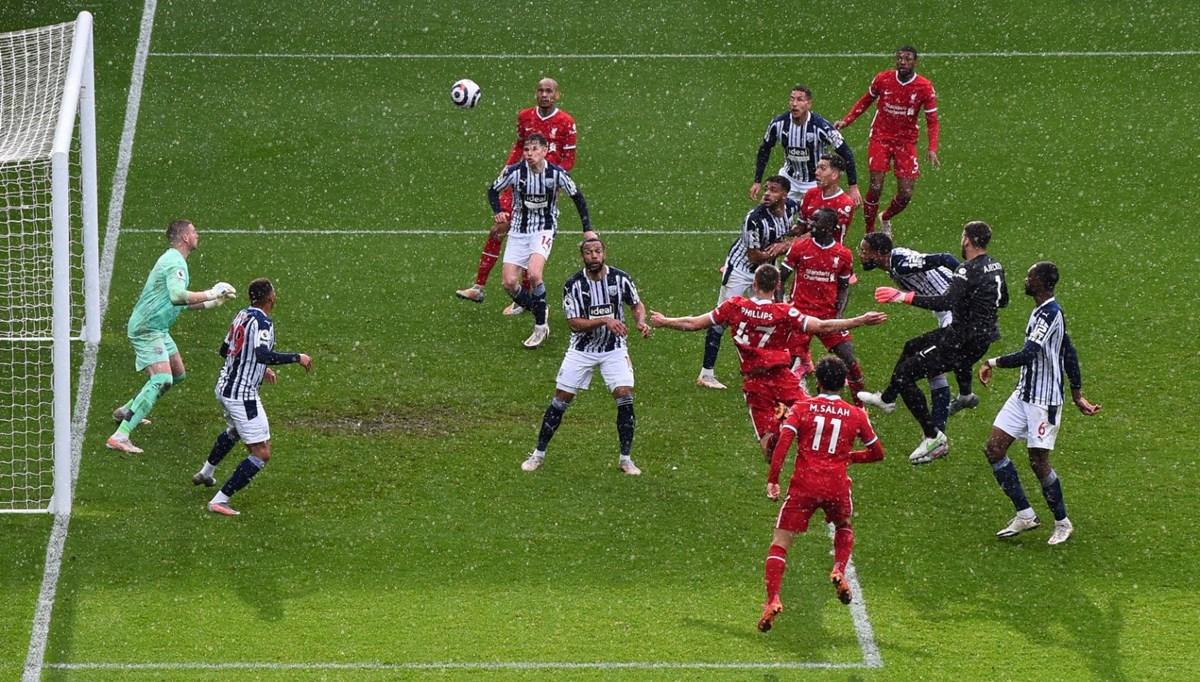 Liverpool, kaleci Alisson'un golüyle kazandı