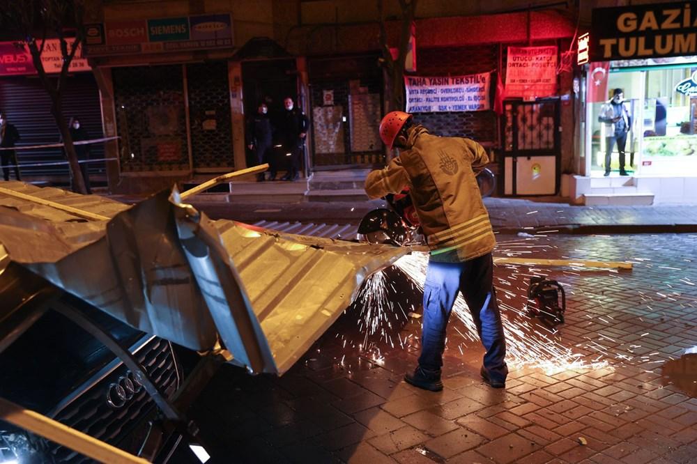 İstanbul'da fırtına etkili oluyor - 11
