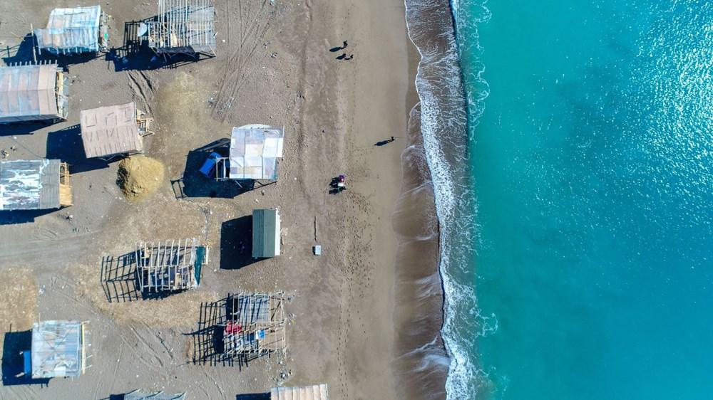 Lüks tatilin bedavaya sunulduğu 'Çardak Beach' çöplük oldu - 22