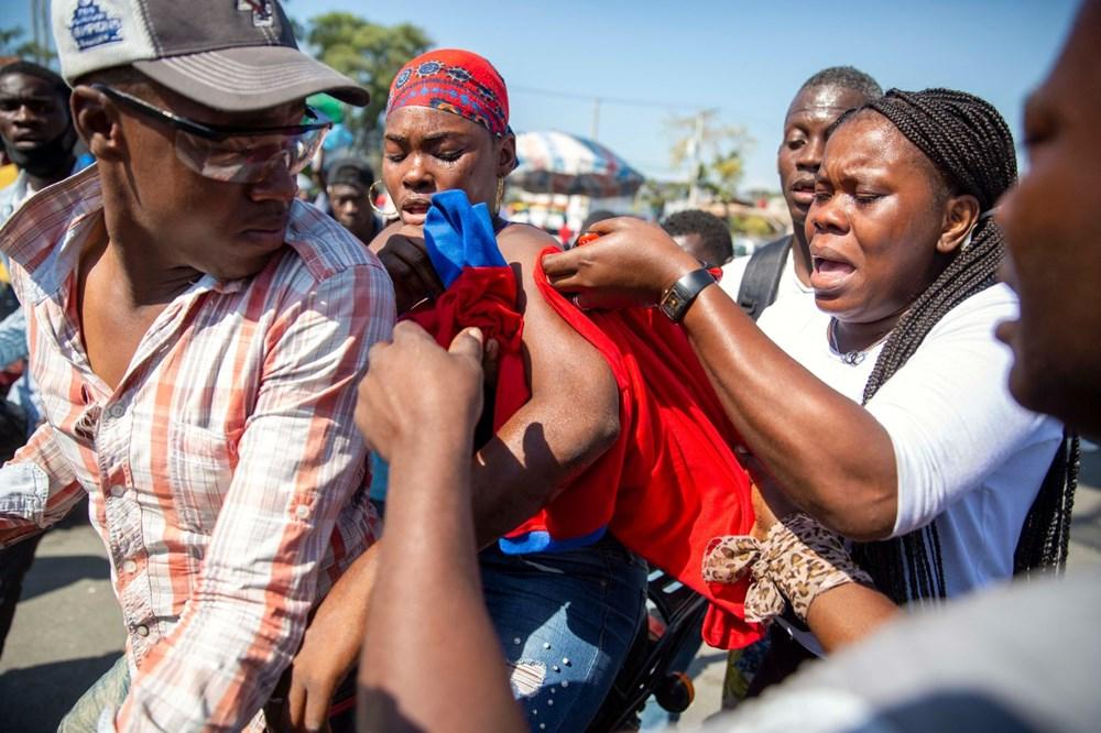 Haiti'de hükümet karşıtı protestolara sert müdahale - 10