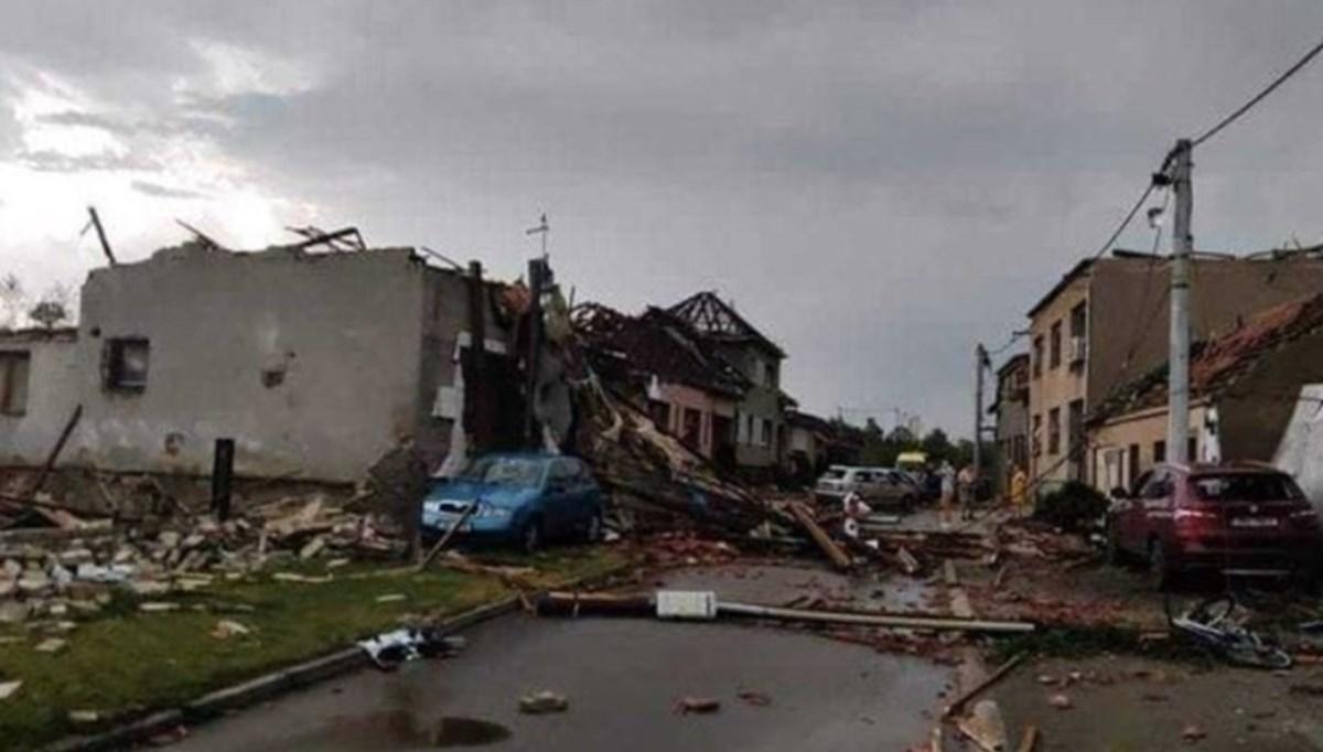 Tornado hit Czechia: 3 dead