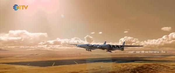 Dünyanın en büyük uçağı ''Roc'' ilk kez havalandı