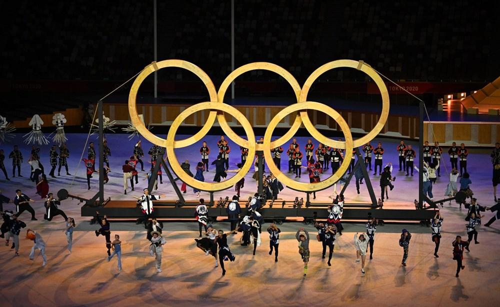 2020 Tokyo Olimpiyatları görkemli açılış töreniyle başladı - 66