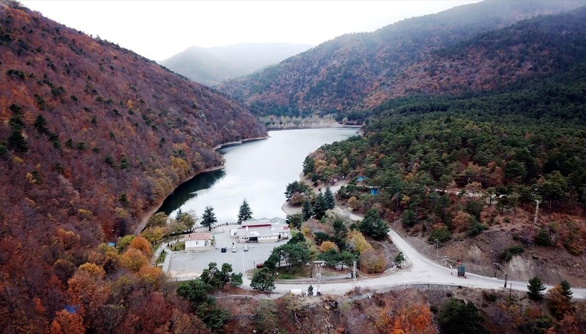 Amasya'da doğada izole tatil yapmak isteyenlerin uğrak noktası: Boraboy Gölü Tabiat Parkı