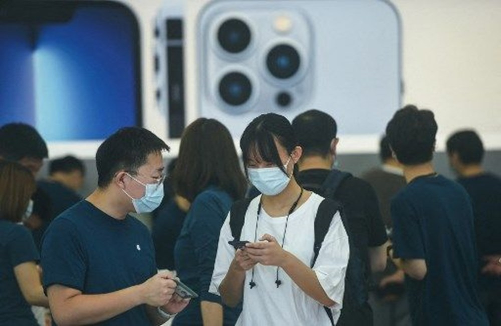 iPhone 13 satışta: Dünyanın dört bir yanında Apple tutkunları yeni iPhone için kuyruğa girdi - 10