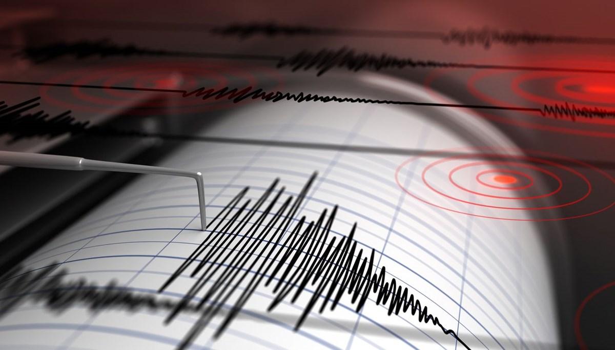 SON DAKİKA:Ege Denizi'nde 4,4 büyüklüğünde deprem