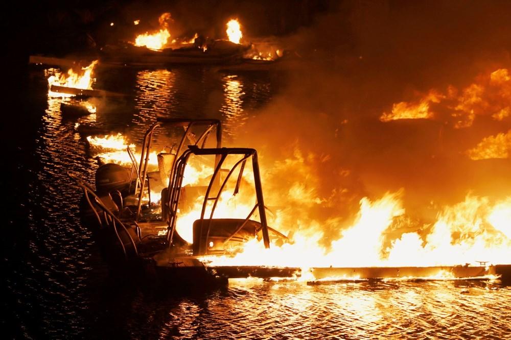 California'da yangınlar kontrol altına alınamadı: Bir helikopter düştü - 2