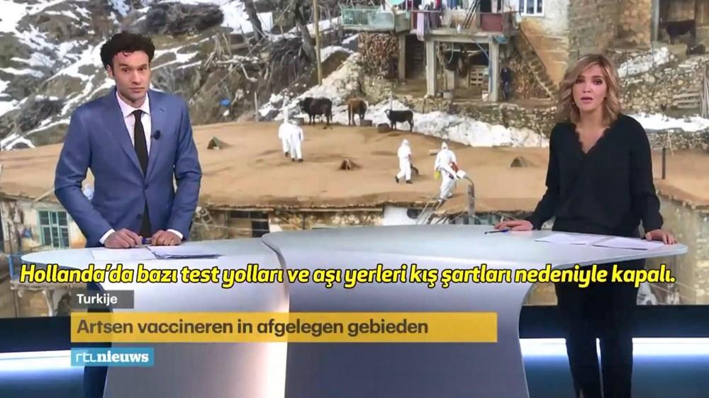 Hollanda kanalından Türkiye'ye aşılama övgüsü - 11