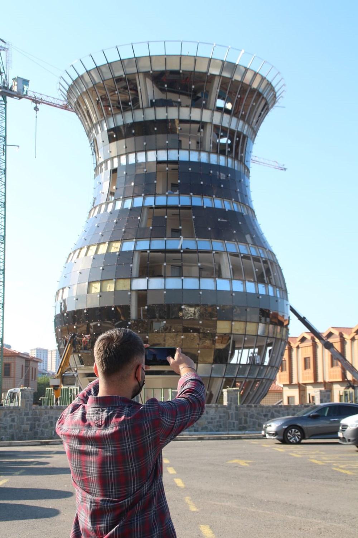 Rize'deki dünyanın en büyük çay bardağı Guinness'e aday - 6
